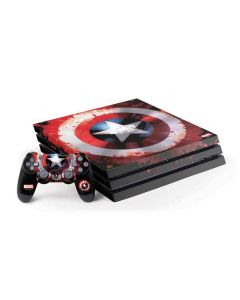 Captain America Shield PS4 Pro Bundle Skin