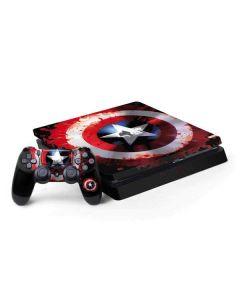 Captain America Shield PS4 Slim Bundle Skin
