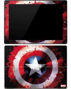 Captain America Shield Surface 3 Skin