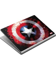 Captain America Shield Surface Book Skin
