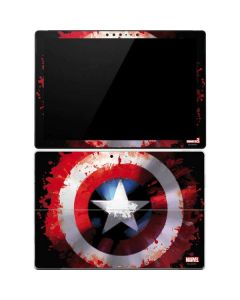 Captain America Shield Surface Pro 4 Skin