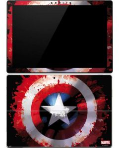 Captain America Shield Surface Pro (2017) Skin