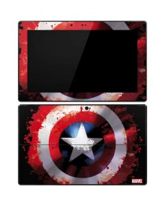 Captain America Shield Surface Pro Tablet Skin