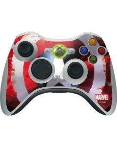 Captain America Shield Xbox 360 Wireless Controller Skin