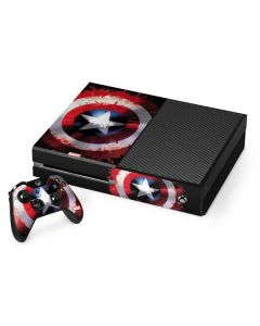 Captain America Shield Xbox One Console and Controller Bundle Skin