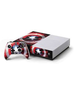 Captain America Shield Xbox One S All-Digital Edition Bundle Skin