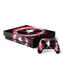 Captain America Shield Xbox One X Bundle Skin