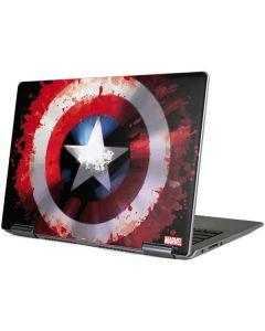 Captain America Shield Yoga 710 14in Skin