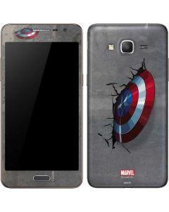 Captain America Vibranium Shield Galaxy Grand Prime Skin