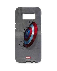 Captain America Vibranium Shield Galaxy S8 Pro Case