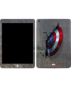 Captain America Vibranium Shield Apple iPad Skin