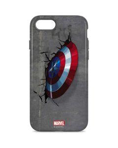 Captain America Vibranium Shield iPhone 8 Pro Case