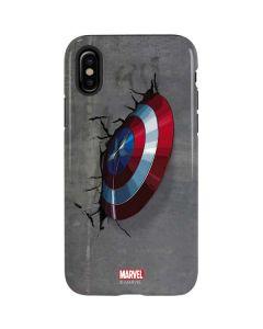 Captain America Vibranium Shield iPhone XS Pro Case