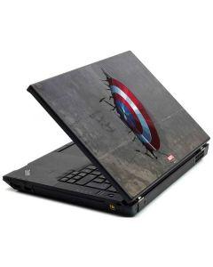 Captain America Vibranium Shield Lenovo T420 Skin