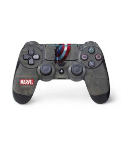Captain America Vibranium Shield PS4 Pro/Slim Controller Skin