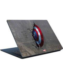 Captain America Vibranium Shield Surface Laptop Skin