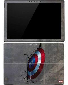 Captain America Vibranium Shield Surface Pro (2017) Skin