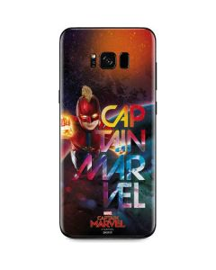Captain Marvel Blastoff Galaxy S8 Skin
