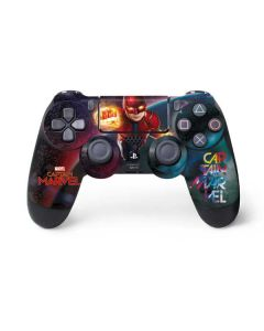Captain Marvel Blastoff PS4 Controller Skin