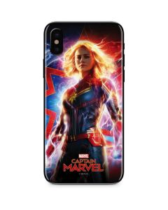 Captain Marvel Carol Danvers iPhone X Skin