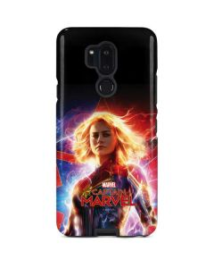 Captain Marvel Carol Danvers LG G7 ThinQ Pro Case