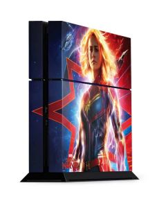 Captain Marvel Carol Danvers PS4 Console Skin