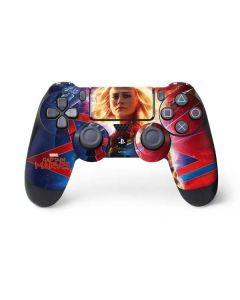 Captain Marvel Carol Danvers PS4 Controller Skin
