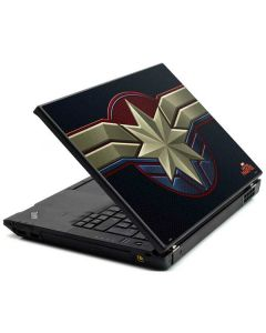 Captain Marvel Emblem Lenovo T420 Skin