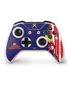 Captain Marvel Sketch Xbox One S Controller Skin