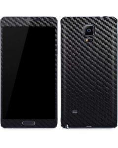 Carbon Fiber Galaxy Note 4 Skin