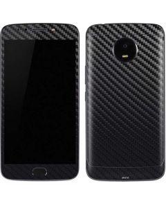 Carbon Fiber Moto E4 Plus Skin