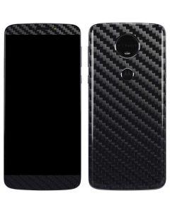 Carbon Fiber Moto E5 Plus Skin