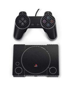 Carbon Fiber PlayStation Classic Bundle Skin