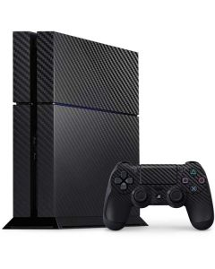 Carbon Fiber PS4 Console and Controller Bundle Skin
