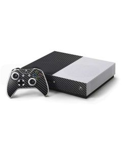 Carbon Fiber Xbox One S Console and Controller Bundle Skin