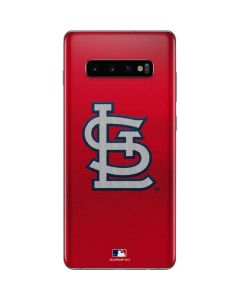 Cardinals Embroidery Galaxy S10 Plus Skin