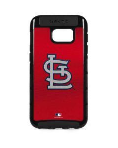Cardinals Embroidery Galaxy S7 Edge Cargo Case