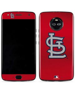 Cardinals Embroidery Moto X4 Skin