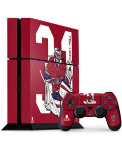 Carey Price #31 Action Sketch PS4 Console and Controller Bundle Skin