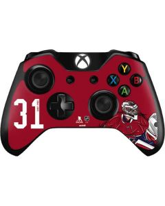 Carey Price #31 Action Sketch Xbox One Controller Skin