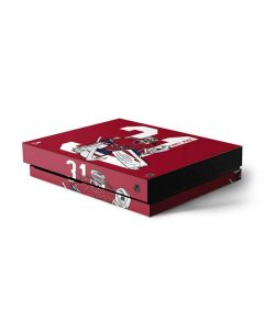 Carey Price #31 Action Sketch Xbox One X Console Skin