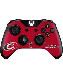 Carolina Hurricanes Distressed Xbox One Controller Skin