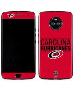 Carolina Hurricanes Lineup Moto X4 Skin