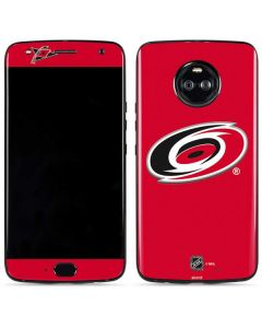Carolina Hurricanes Solid Background Moto X4 Skin