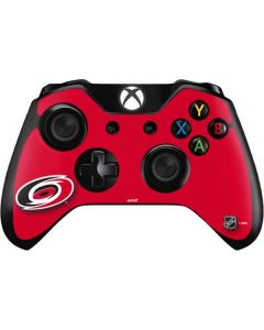 Carolina Hurricanes Solid Background Xbox One Controller Skin