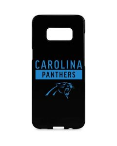 Carolina Panthers Black Performance Series Galaxy S8 Plus Lite Case
