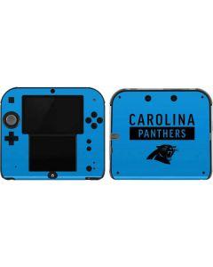 Carolina Panthers Blue Performance Series 2DS Skin