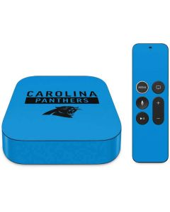 Carolina Panthers Blue Performance Series Apple TV Skin