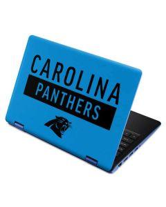 Carolina Panthers Blue Performance Series Aspire R11 11.6in Skin