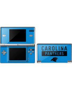 Carolina Panthers Blue Performance Series DS Lite Skin
